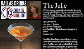 Dallas Drinks - The Julie featured image