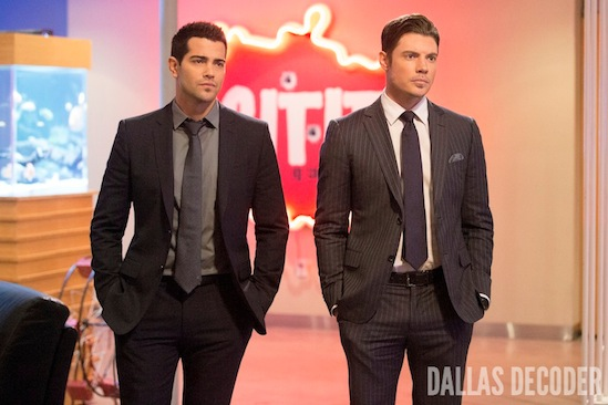 Christopher Ewing, Dallas, Jesse Metcalfe, John Ross Ewing, Josh Henderson, TNT, Victims of Love