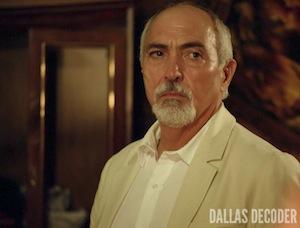 Dallas, El Pozolero, Endgame, Miguel Sandoval, TNT, Which Ewing Dies?