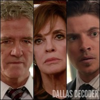 Bobby Ewing, Dallas, John Ross Ewing, Josh Henderson, Linda Gray, Sue Ellen Ewing, TNT, Which Ewing Dies