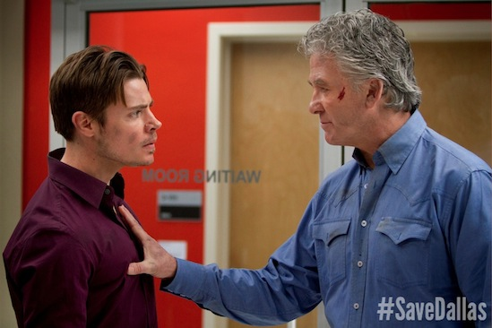 #SaveDallas, Josh Bobby Ewing, Dallas, John Ross Ewing, Josh Henderson, Patrick Duffy, Save Dallas