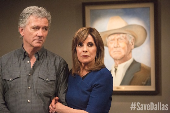 Bobby Ewing, Dallas, Linda Gray, Patrick Duffy, Sue Ellen Ewing, Save Dallas, TNT