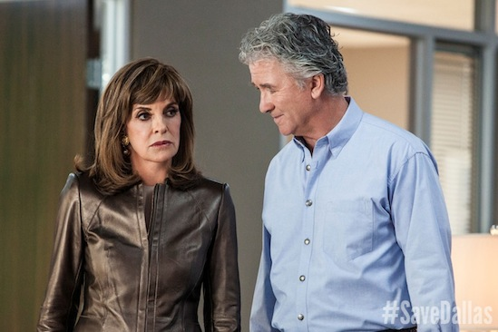 #SaveDallas, Bobby Ewing, Dallas, Linda Gray, Patrick Duffy, Sue Ellen Ewing, Save Dallas, TNT