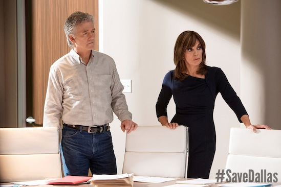 Bobby Ewing, Dallas, Linda Gray, Patrick Duffy, Save Dallas, #SaveDallas, TNT