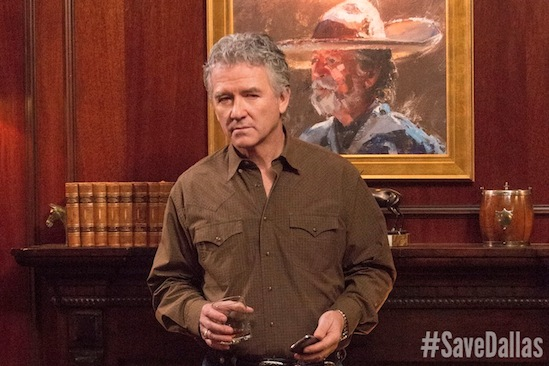 Bobby Ewing, Dallas, Patrick Duffy, Save Dallas, #SaveDallas, TNT