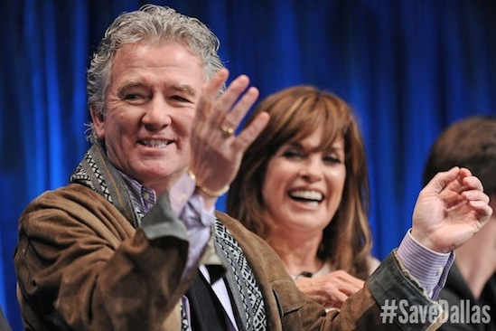 #SaveDallas, Dallas, Linda Gray, Patrick Duffy, Save Dallas, TNT