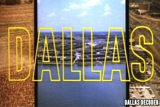 Dallas, credits, theme, titles