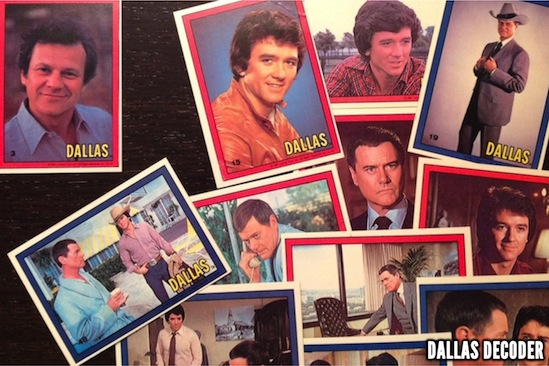 Bobby Ewing, Cliff Barnes, Dallas, J.R. Ewing, Ken Kercheval, Larry Hagman, Patrick Duffy