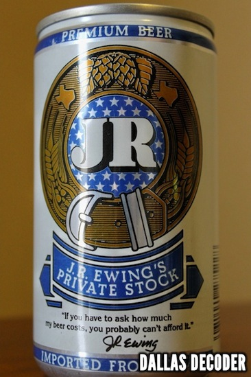 Dallas, J.R. Ewing Beer, J.R. Ewing's Private Stock