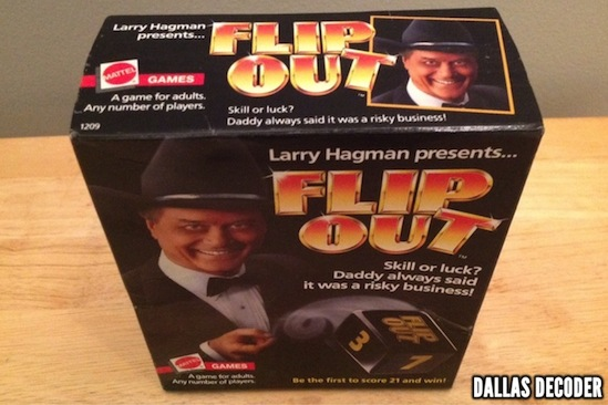 Dallas, Flip Out, J.R. Ewing, Larry Hagman