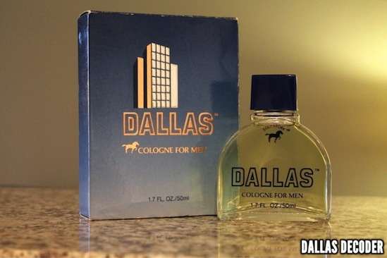 Dallas, Dallas cologne