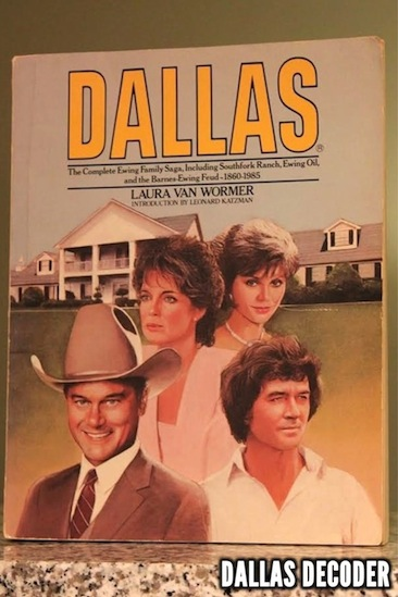 Bobby Ewing, Dallas, Dallas: The Complete Ewing Family Saga, J.R. Ewing, Larry Hagman, Laura Van Wormer, Linda Gray, Pam Ewing, Patrick Duffy, Victoria Principal
