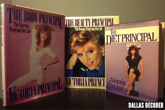 Beauty Principal, Body Principal, Dallas, Diet Principal, Pam Ewing, Victoria Principal