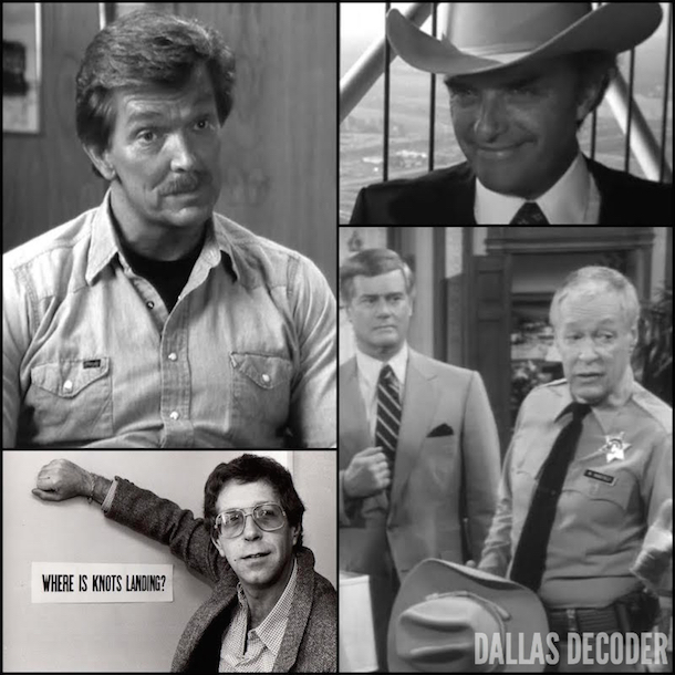 Dallas, Denny Miller, Ed Nelson, Michael Filerman, Russell Johnson