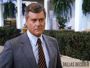 Dallas, J.R. Ewing, Larry Hagman, Love Stories