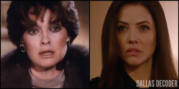 Dallas, Julie Gonzalo, Linda Gray, Pamela Rebecca Barnes Ewing, Sue Ellen Ewing, Tangled Webs, Where There's Smoke, TNT