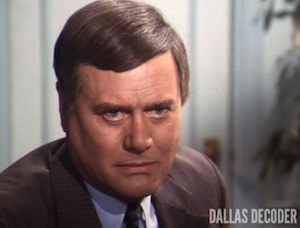Dallas, J.R. Ewing, Larry Hagman, Penultimate