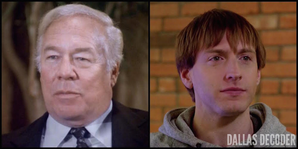 Carter McKay, Dallas, Fran Kranz, George Kennedy, Hunter McKay, TNT