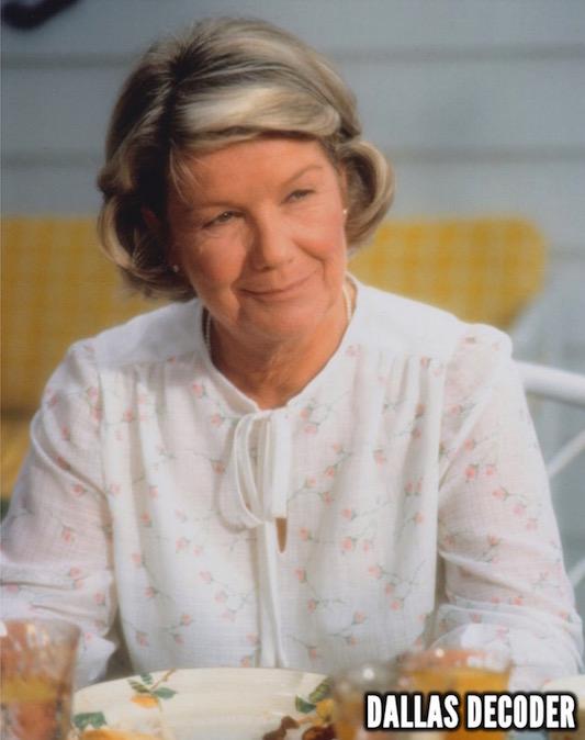 Barbara Bel Geddes, Dallas, Miss Ellie Ewing Farlow