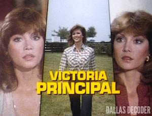 Dallas, Pam Ewing, Victoria Principal
