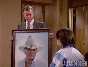 Dallas, John Ross Ewing, J.R. Ewing, Larry Hagman, Omri Katz