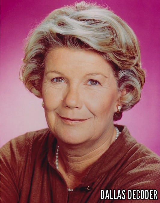 Barbara Bel Geddes, Dallas, Miss Ellie Ewing
