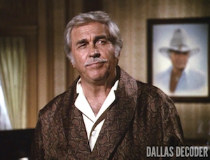 Clayton Farlow, Dallas, Homecoming, Howard Keel