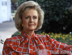 Dallas, Donna Reed, Miss Ellie Ewing Farlow, Oil Baron's Ball III