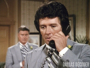 Bobby Ewing, Dallas, Do You Take This Woman?, J.R. Ewing, Larry Hagman, Patrick Duffy