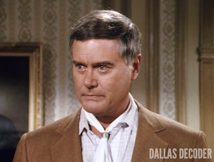Dallas, Do You Take This Woman?, J.R. Ewing, Larry Hagman