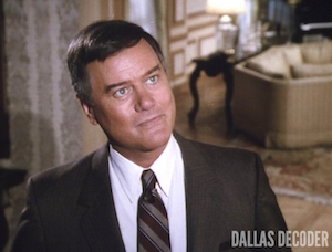 Dallas, J.R. Ewing, Larry Hagman, Shadow of a Doubt