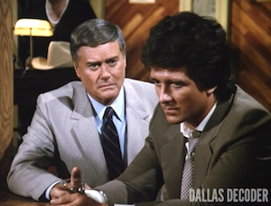 Bobby Ewing, Dallas, J.R. Ewing, Larry Hagman, Odd Man Out, Patrick Duffy