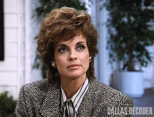 Bail Out, Dallas, Linda Gray, Sue Ellen Ewing