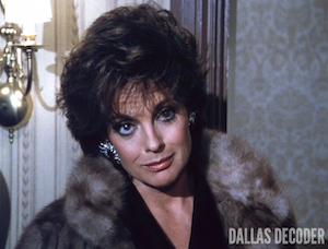 Dallas, Linda Gray, Sins of the Fathers, Sue Ellen Ewing