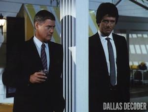 Bobby Ewing, Brothers Ewing, Dallas, J.R. Ewing, Larry Hagman, Patrick Duffy