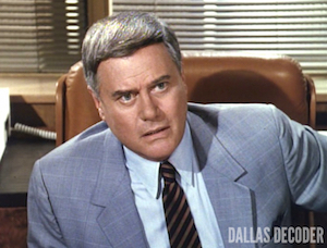 Dallas, J.R. Ewing, Larry Hagman, Legacy of Hate