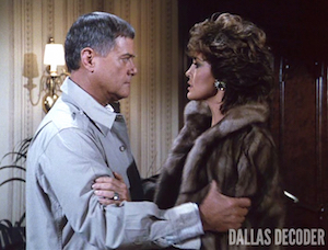 Dallas, J.R. Ewing, Larry Hagman, Linda Gray, Sins of the Fathers, Sue Ellen Ewing