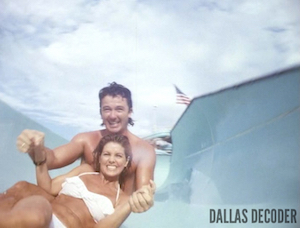 Bobby Ewing, Dallas, Jenna Wade, Patrick Duffy, Priscilla Beaulieu Presley