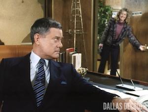 Dallas, Dead Ends, Debbie Rennard, J.R. Ewing, Larry Hagman, Sly Lovegren