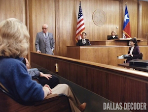 Dallas, Scotty Demarest, Stephen Elliott, Verdict