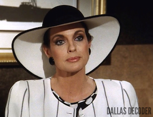Dallas, Linda Gray, Sentences, Sue Ellen Ewing