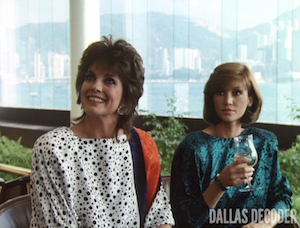 Dallas, Linda Gray, Pam Ewing, Shattered Dreams, Sue Ellen Ewing, Victoria Principal