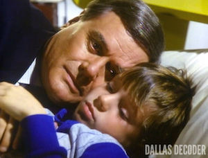 Dallas, Family Ewing, John Ross Ewing, J.R. Ewing, Larry Hagman, Omri Katz