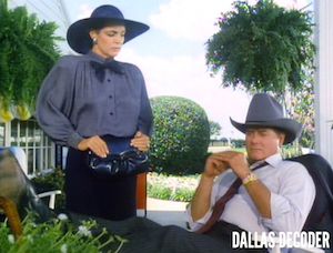 Dallas, J.R. Ewing, Linda Gray, Rock Bottom, Sue Ellen Ewing