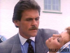 Dallas, John Beck, Mark Graison, Pam Ewing, Saving Grace