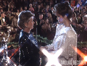 Barbara Bel Geddes, Dallas, Miss Ellie Ewing Farlow, Pam Ewing, Victoria Principal, Wind of Change