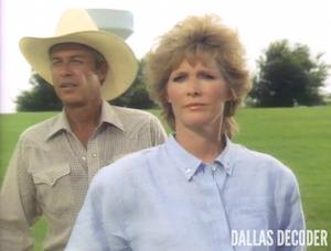Dallas, Donna Krebbs, Quandary, Ray Krebbs, Steve Kanaly, Susan Howard