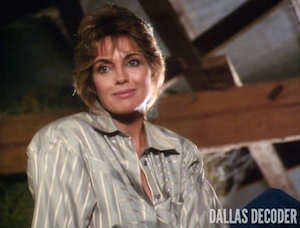 Close Encounters, Dallas, Linda Gray, Sue Ellen Ewing