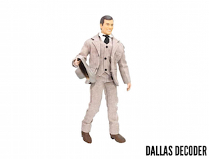 Dallas, J.R. Ewing action figure, Larry Hagman