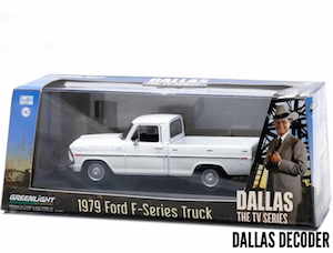 Dallas, Ford F-Series, GreenLight Collectibles, J.R. Ewing, Ray Krebbs